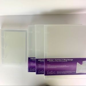 Crafter's Companions Cling Stamp Storage Binders